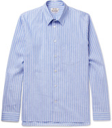 Acne Studios - York Striped Linen And Cotton-blend Shirt