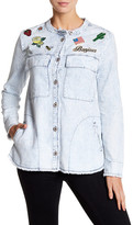William Rast Knotto Patch Embellished Jacket