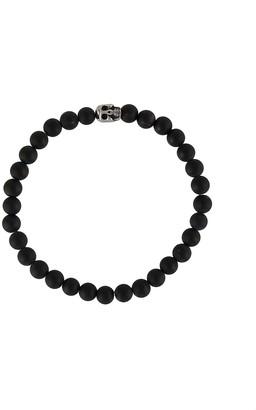Nialaya Jewelry Skull Bead Bracelet
