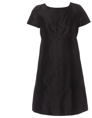 Tara Jarmon Black Cotton Dresses