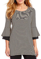 Westbound 3/4 Tiered Bell Sleeve Tunic