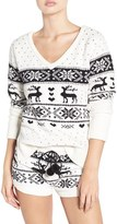 Betsey Johnson Women's Plush Sweater