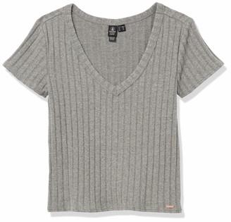 Volcom Women's Short Sleeve Knit Tee Shirt