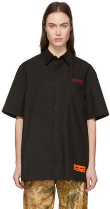 Heron Preston Black Style Short Sleeve Shirt