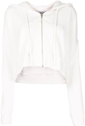 Wildfox Couture Kinley cropped hoodie