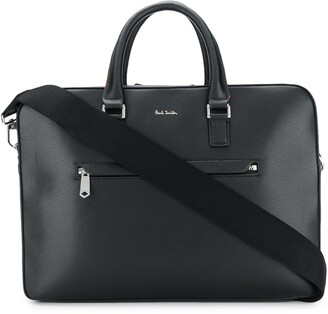 Paul Smith front zip laptop bag