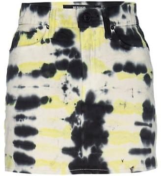 Hudson Viper Tie-Dye Mini Skirt