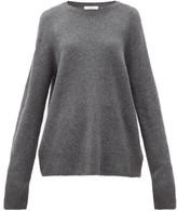 The Row Sibel Oversized Wool-blend Sweater - Womens - Grey