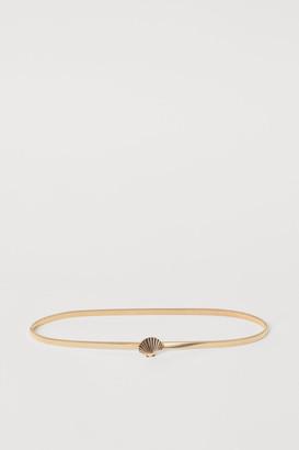H&M Waist Belt - Gold
