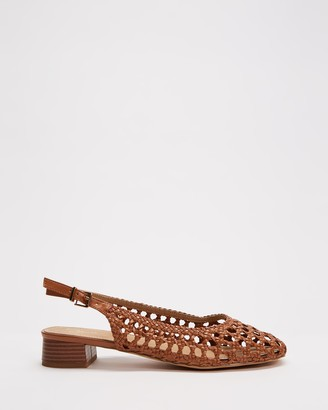 Spurr Women's Brown Sandals - Thessy Heels - Size 5 at The Iconic