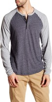 Lucky Brand Colorblock Henley Tee