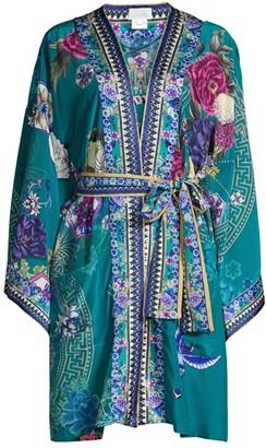 Camilla Lunar Gazing Silk Tie Kimono
