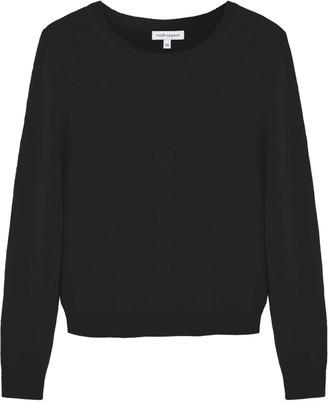 Theo + George Ella Crew Neck Black Cashmere Sweater