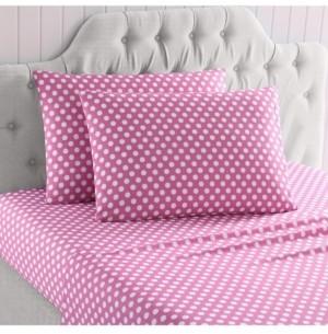 Morgan Home Mhf Home Kids Polka Dots Galore Queen Sheet Set Bedding