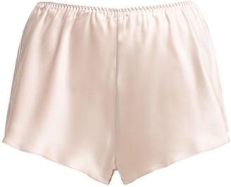 Luna Di Seta Silk Satin Shorts