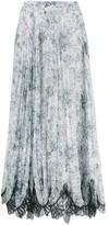 Costarellos pleated skirt