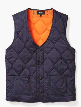 Kate Spade Quilted 3-In-1 Button Out Vest