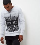New Look Grey New York City Sweater