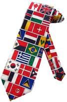 Three Rooker Mens United Nations Flags Necktie - Neck Tie