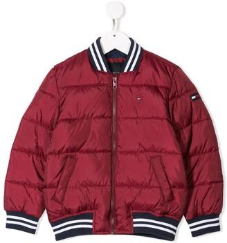 Tommy Hilfiger Junior padded bomber jacket
