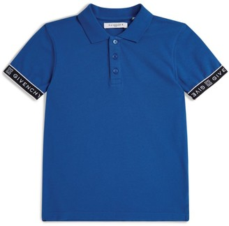 Givenchy Kids Logo Tape Polo Shirt