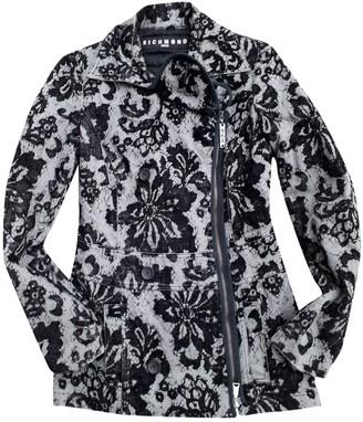 John Richmond Black Cotton Coat for Women