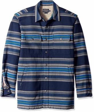 Pendleton Woolen Mills Pendleton Men's Long Sleeve Fleece Lined Shirt Jacket