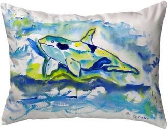Orca Highland Dunes Plaisance Indoor/Outdoor Lumbar Pillow Highland Dunes