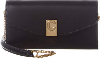 Celine C Leather Wallet On Chain