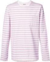 Très Bien - Army striped sweatshirt - men - Cotton - 46