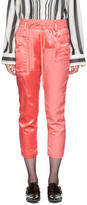 Haider Ackermann Pink Patchwork Lounge Pants