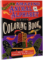 NEW Pomegranate Kids Amazing Animal Alphabet Colouring Book