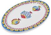 Sur La Table Positano Oval Melamine Fish Platter