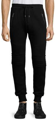 The Kooples Quilted Panel Sweatpants