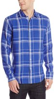 Bugatchi Men's Xavier Long Sleeve Shaped Button Down Shirt