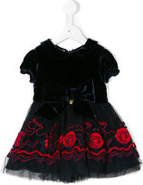 Miss Blumarine tulle flared dress