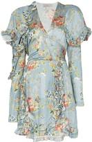 Preen by Thornton Bregazzi Rylee floral print ruffle mini dress