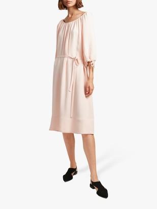 French Connection Ezmiya Smock Dress, Satin Slipper
