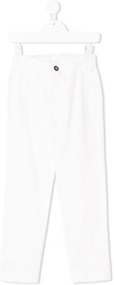 Anne Kurris elasticated waist chino trousers