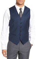 Ted Baker Men's 'Jones' Trim Fit Solid Wool Vest