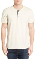 Jeremiah Men's 'Abel' Short Sleeve Slub Cotton Henley