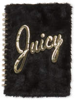Juicy Couture Faux Fur Spiral Notebook