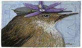 Walter Thumbprintz You Silly Bird Rug (4' x 6')