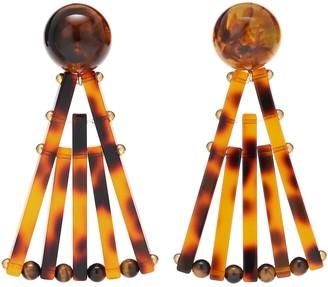Cult Gaia Fan earrings