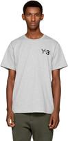 Y-3 Grey Classic Logo T-shirt