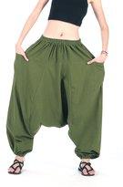 CandyHusky's 100% Cotton Baggy Boho Costumes Yoga Harem Pants