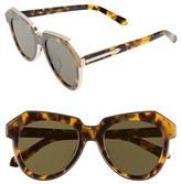 Karen Walker Women's Alternative Fit One Astronaut - Arrowed By Karen 50Mm Sunglasses - Crazy Tortoise/ Gold