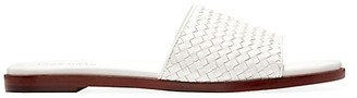 Cole Haan Analise Woven Leather Slides
