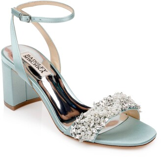 Badgley Mischka Collection Clara Embellished Sandal