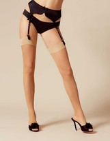 Agent Provocateur Astra Stocking Champagne